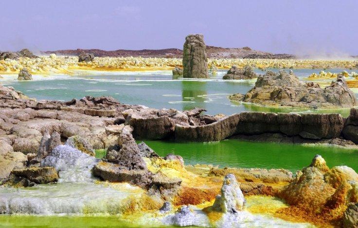 Dallol torrid pond