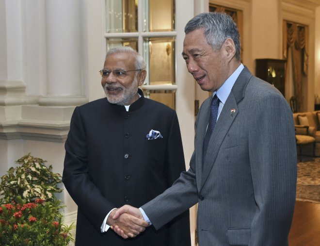 PM Lee to visit India from 3 October, will meet Narendra Modi