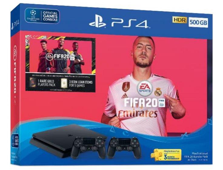 PlayStation 4 FIFA 20 Bundle Pack