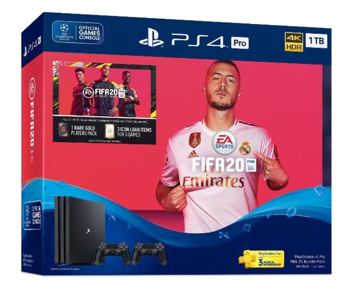 PlayStation 4 Pro FIFA 20 Bundle Pack