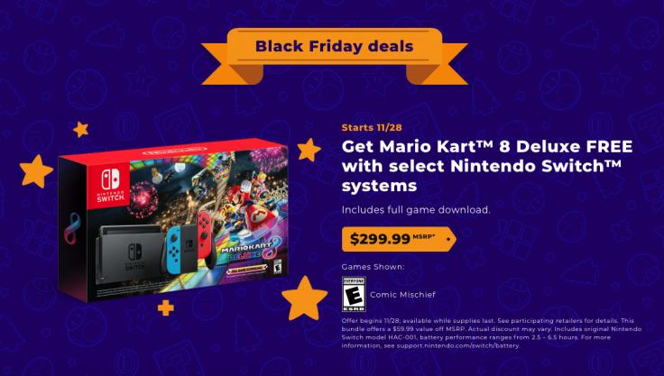 Nintendo Black Friday sale
