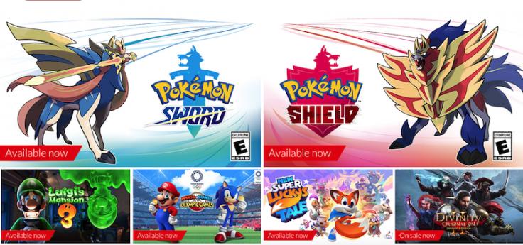 Nintendo Switch game sale