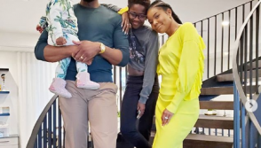 Gabrielle Union with her family