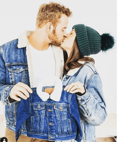 Kellan Lutz with his wife Brittany Gonzales