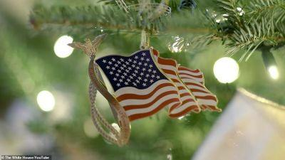 White House Christmas Decoration