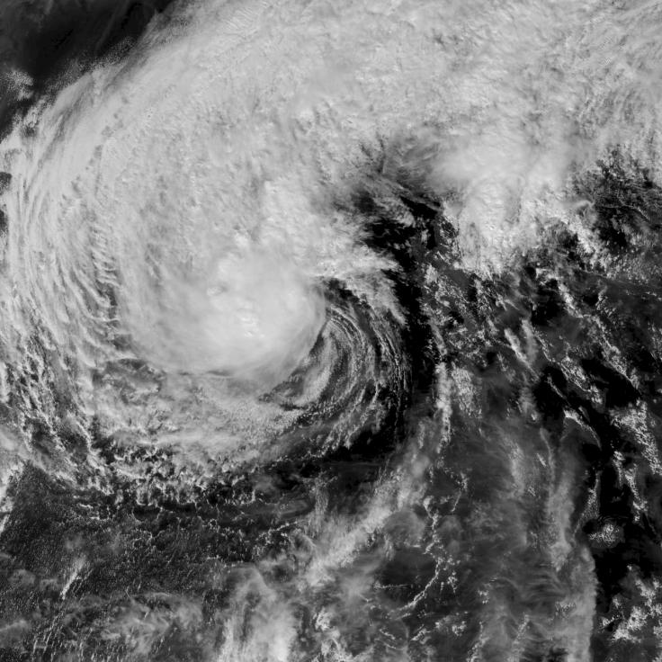 Geostationary imagery of 2019's Typhoon Kammuri