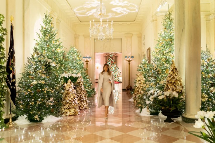 Melania Trump Christmas White House