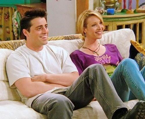 Joey and Pheobe in Friends