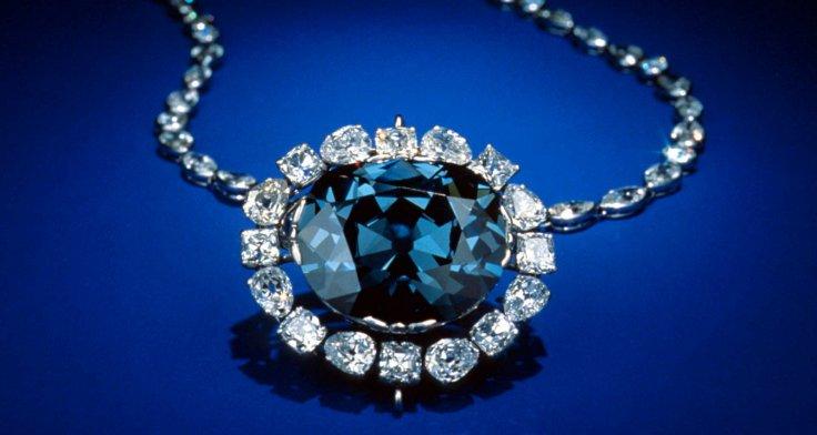 The Blue Hope Diamond.