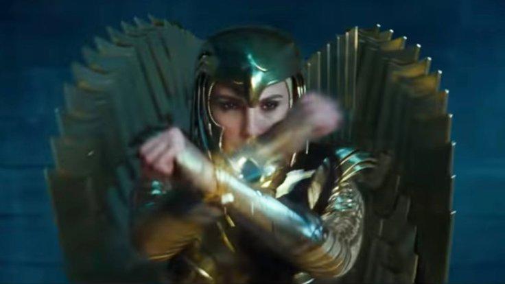 Wonder Woman 1984 Trailer golden armor