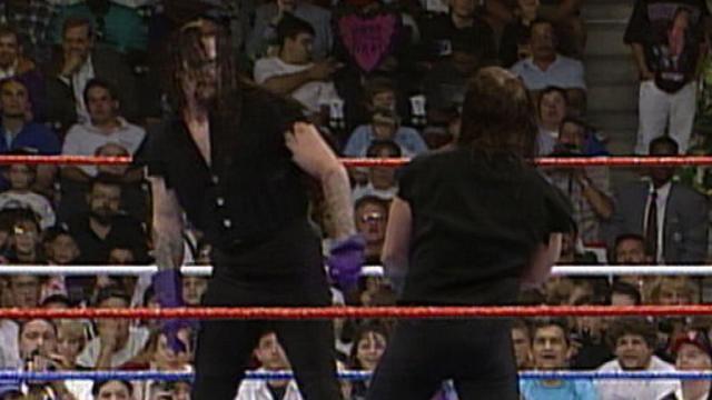 The Undertaker vs The Undertaker at SummerSlam1994