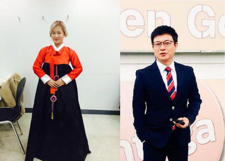 Gim Seong Ju and Park Na Rae