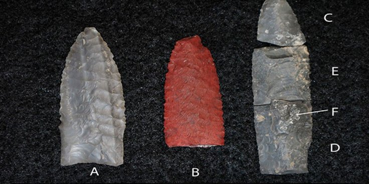 For 2,000 years, until the end of the most recent glacial period, Paleoindian groups hunted big game through the lush grasslands, using hand-thrown spears.