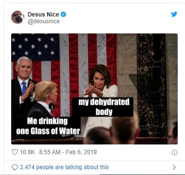 Nancy Pelosi Clapping meme