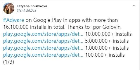 Adware apps