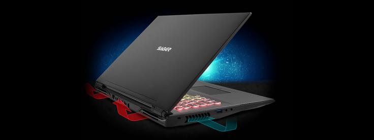 Sager NP8377 Gaming Laptop