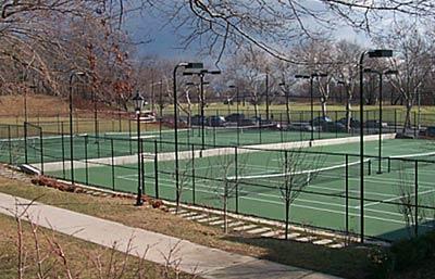 Tennis Court, Poly Prep, Brooklyn, NY