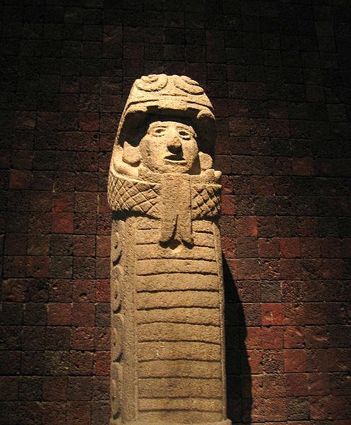Aztec pillar