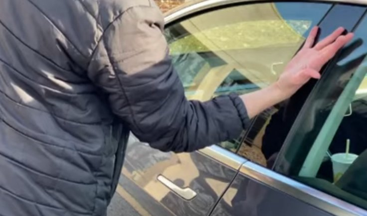 unlocking Model 3 by hand