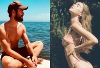 Liam Hemsworth and Gabriella Brooks.