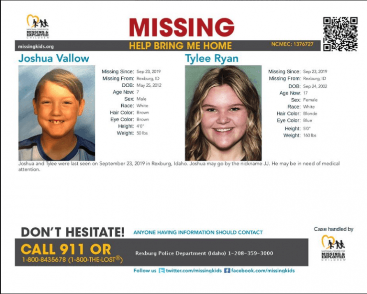 Missing Children from Idaho