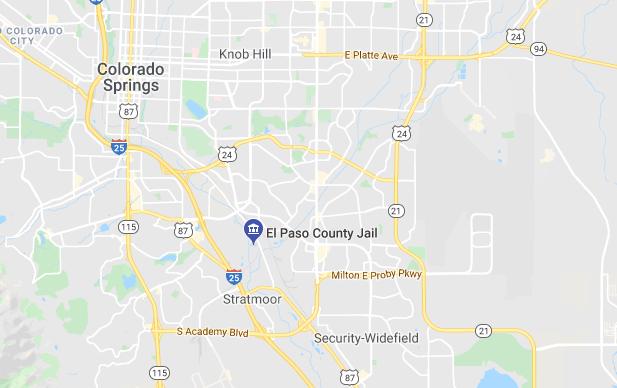 El Paso County Jail, Colorado Springs