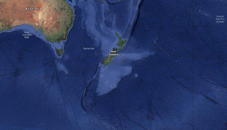 Hot blob off the NZ coast