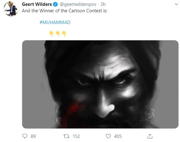 Mohammad caricature contest