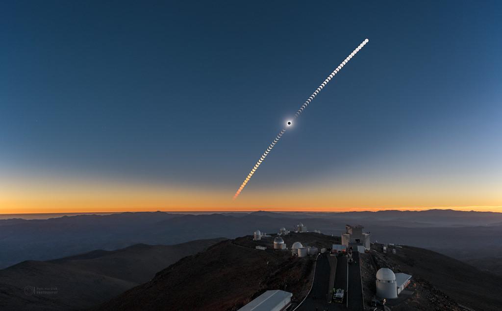 La Silla Eclipse Sequence