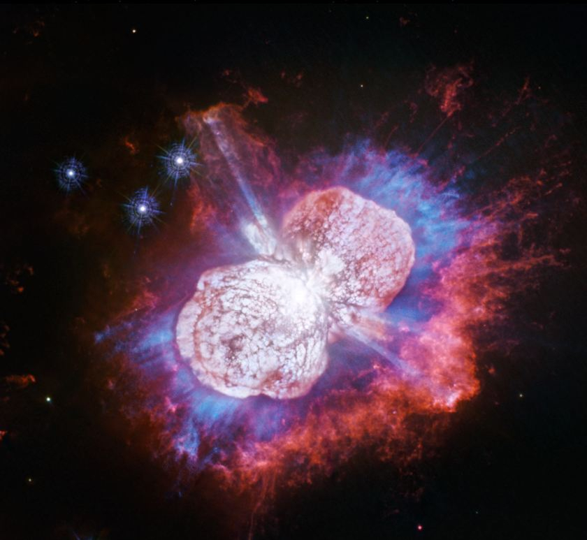 Galaxy's Biggest Ongoing Stellar Fireworks Show