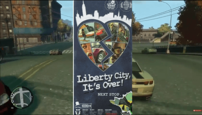 GTA Liberty City Easter-Egg