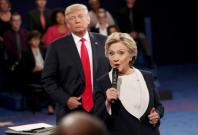 Trump Hillary second debate