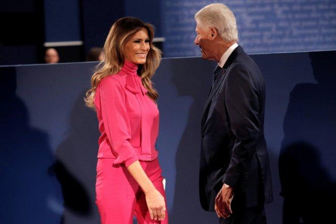 Melania Trump Gucci Pussy bow shirt