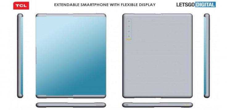 TCL retractable smartphone