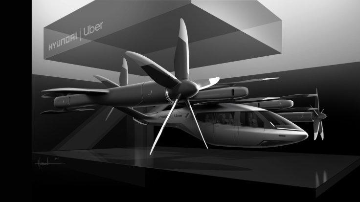 Hyundai S-A1 Air Taxi for Uber