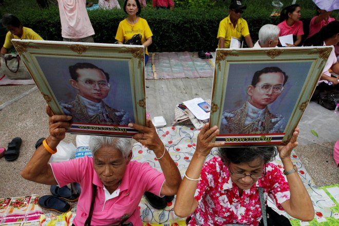 Thailand King's condition not stable;