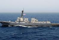 The Arleigh Burke-class destroyer