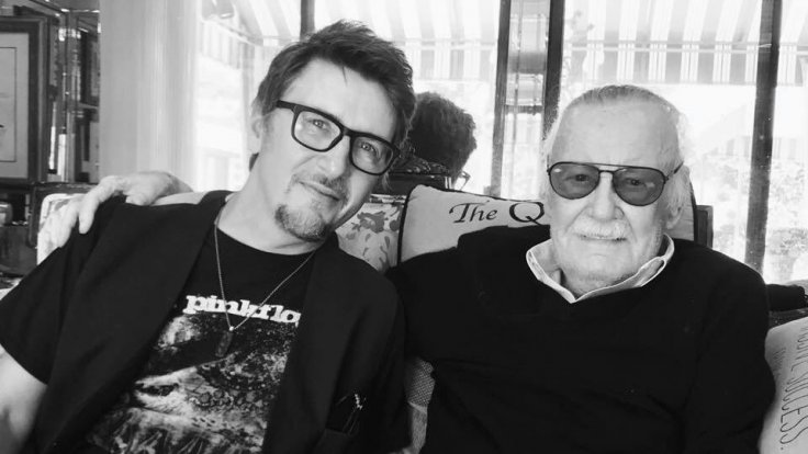Scott Derrickson with Stan Lee