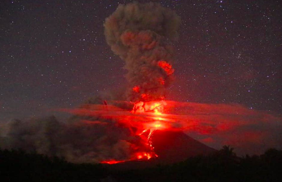 Philippines lowers volcano danger level