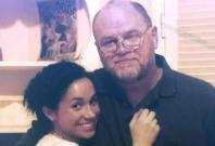 Meghan Markle with her father Thomas Markle