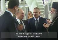 Assad Putin Trump