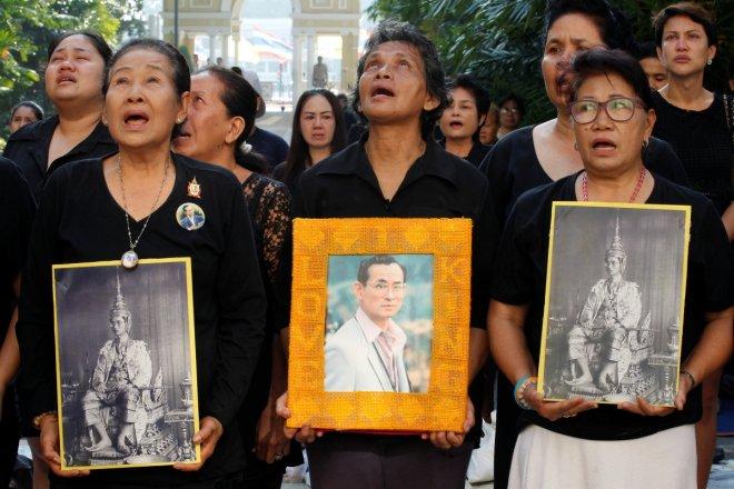 Thailand's King Bhumibol Adulyadej death