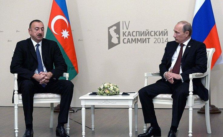Vladimir Putin had a meeting with President of Azerbaijan Ilham Aliyev.