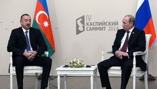 Vladimir Putin had a meeting with President of Azerbaijan Ilham Aliyev.