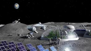 Future moon base
