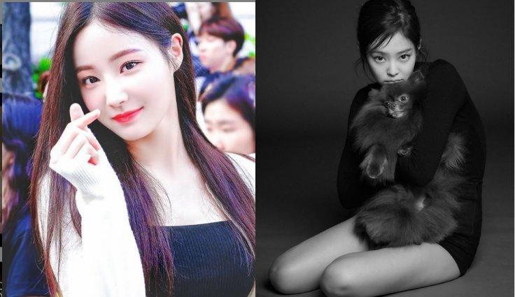 Yeonwoo and Jennie
