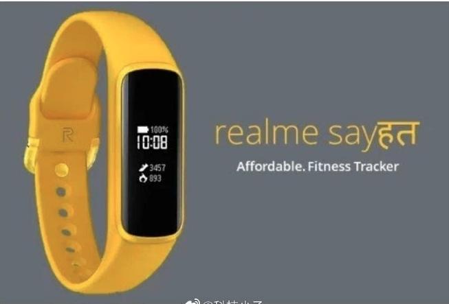Realme Sayhat fitness tracker