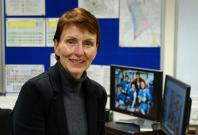 Helen Sharman, Britain's first astronaut.