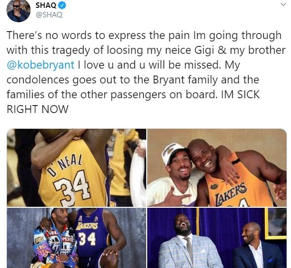 Kobe Bryant reaction