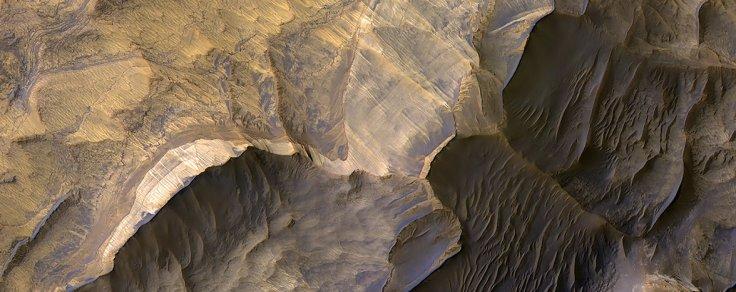 Sandstone in West Candor Chasma